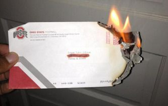 Michigan football commit Logan Tuley-Tillman burns recruiting mail from Ohio State