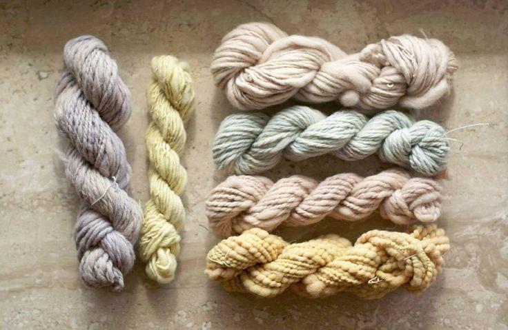 "Polubienia: 68, komentarze: 6 – Jadzia Lenart (@jadzialenart) na Instagramie: ""Natural color palette! #naturalcolor #plantdyeing #plantdye #yarnporn #yarnaddict #woollove…"""