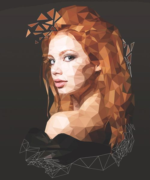 Create a Low-poly Illustration