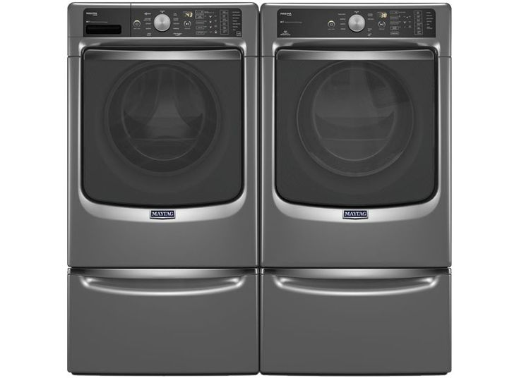 The Best Matching Washers and Dryers - Consumer Reports Maytag Maxima MHW8100DC front-loader and Maytag Maxima MED8100DC