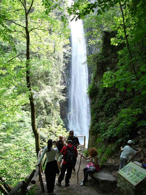 xanthi - greece livaditis waterfall