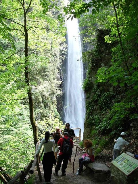 xanthi - greece livaditis waterfall