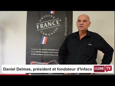 Le Tarnais INFACO créateur et leader mondial du sécateur électrique