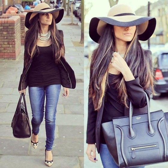 FLAIR - Hat: Accessorize, Blazer: H&M, Shoes: Debenhams, Bag: Celine Details on www.thelondonite.com