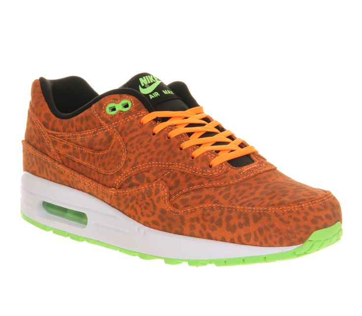 Nike Air Max 1 Leopard Gold Black White.  Hot stuff. A x