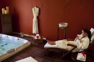 Hydrotherapy area at the Grand Velas Riviera Maya. Click for more info! :)