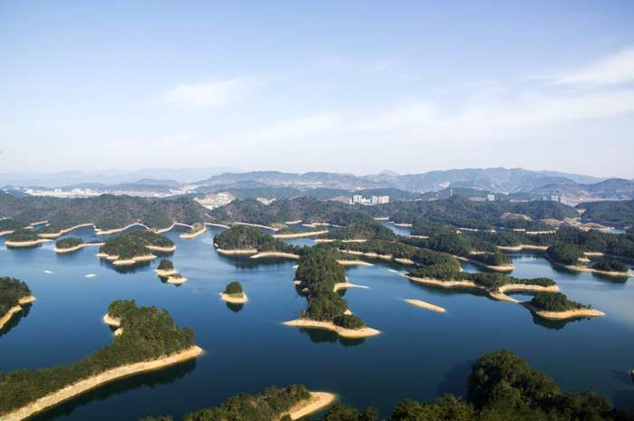 """Slide 6 of 20: <p>The <a href=""""http://www.theactivetimes.com/travel/world/15-lesser-known-ancient-places-around-world""""><strong>ancient flooded city</strong></a> that lies at the foot of Wu Shi Mountain (Five Lion Mountain) is now just about 80-130 feet beneath the Qiandao Lake (Thousand Island Lake) in China. Officials have <a href=""""http://www.huffingtonpost.co.uk/2014/02/17/china-underwater-city_n_4801607.html?utm_hp_ref=uk""""><strong>taken</strong></a> a renewed interest in it because it…"""