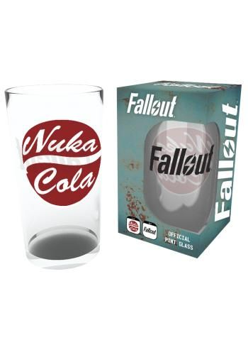4 - Nuka Cola - Pintglas van Fallout