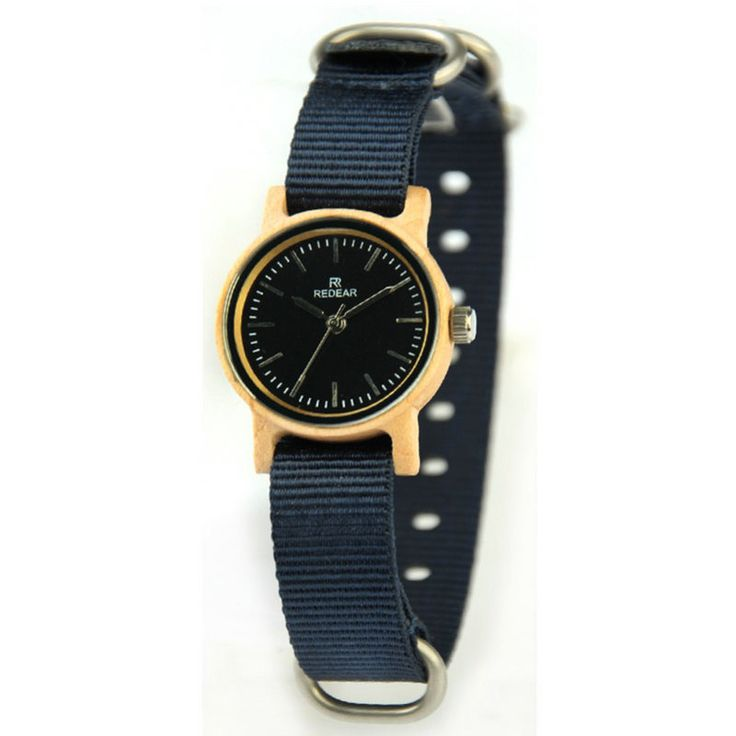 2017 new simple fashion ladies watch natural maple watch latest Japanese quartz movement watch soft nylon watch belt - Online Shopping for Watches
