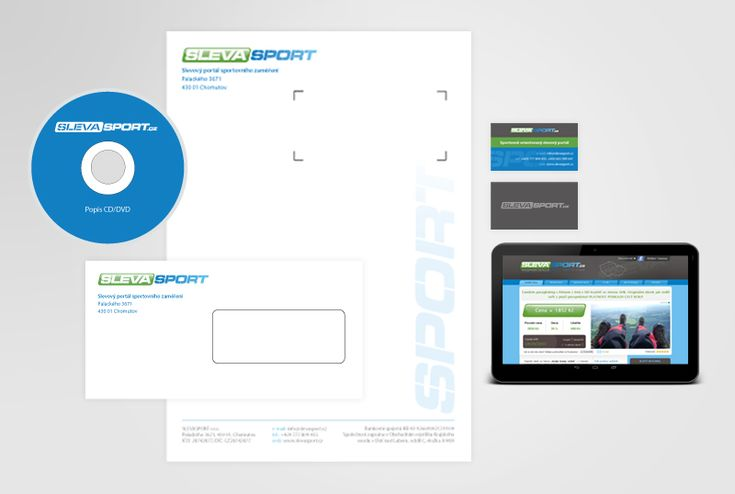 Corporate identity of SLEVASPORT.