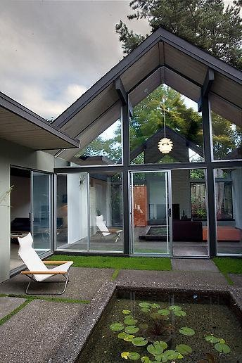 538 best images about mid century modern homes on for Mid century modern prefab homes