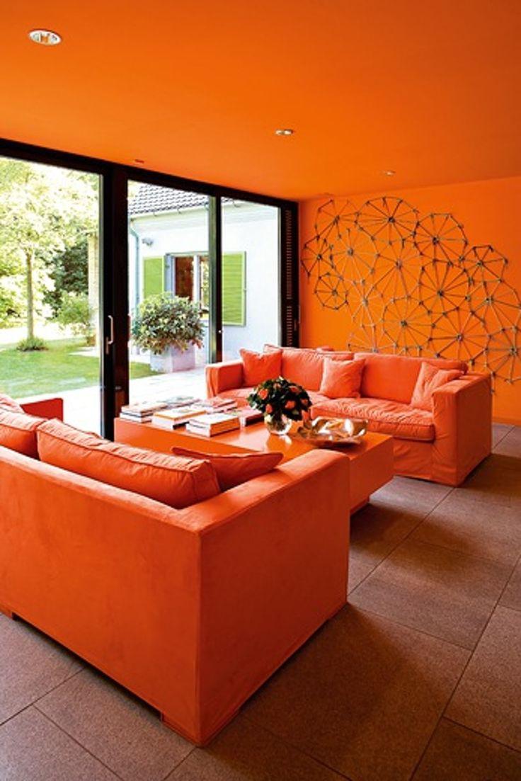 Best 25+ Orange Living Rooms Ideas On Pinterest