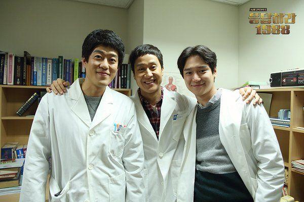 Trash oppa, Michael and Sunwoo!