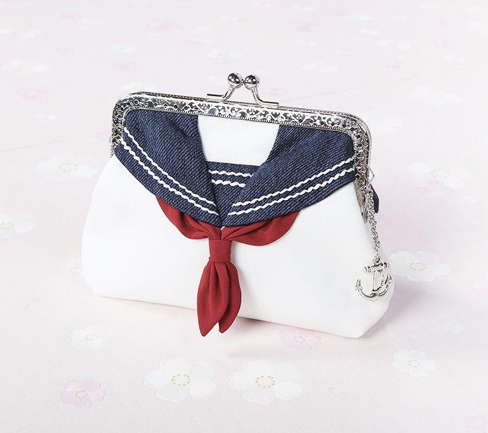 Sailor uniform coin purse