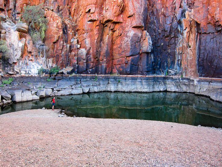 Python Pools, Pilbara region - Western Australia.