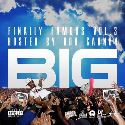 """Big Sean - Finally Famous Vol.3 : """"it's the 3rd mixtape by Big Sean & released as a free online download on October 20, 2010. It featured production from Sean himself, his label boss, Kanye West, Clinton Sparks, and No I.D. among others. The mixtape features several other artists, including Bun B, Big K.R.I.T., YG, Drake, Asher Roth, Mike Posner, Tyga, and Curren$y. The album's lyrical content largely deals with Sean's history and recent fame, with the focus mainly being on his music…"""
