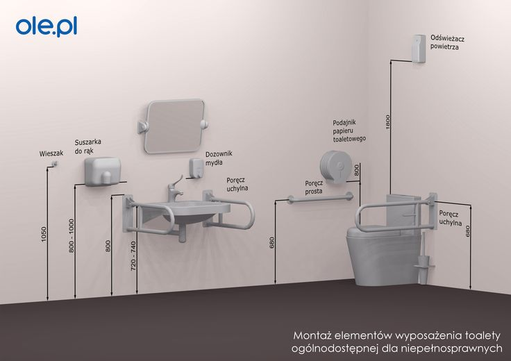 #accessible #toilet #public #restroom #mounting #height #disabled #handicapped #toaleta #niepelnosprawni #porecz