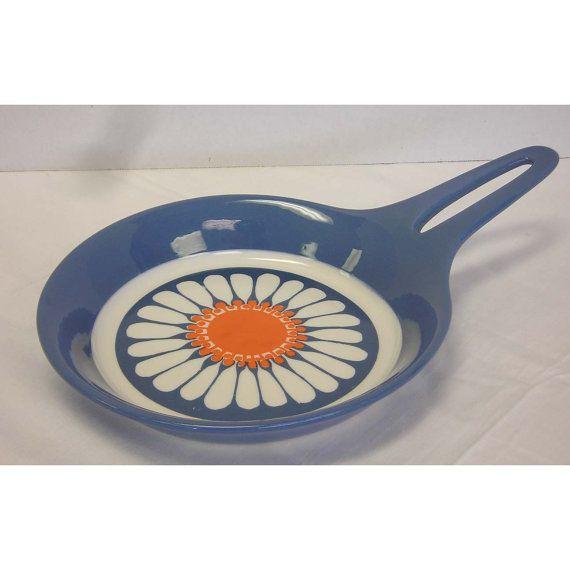 Vintage Turi Design Daisy Figgio Flint Norway Skillet Omelet Pan
