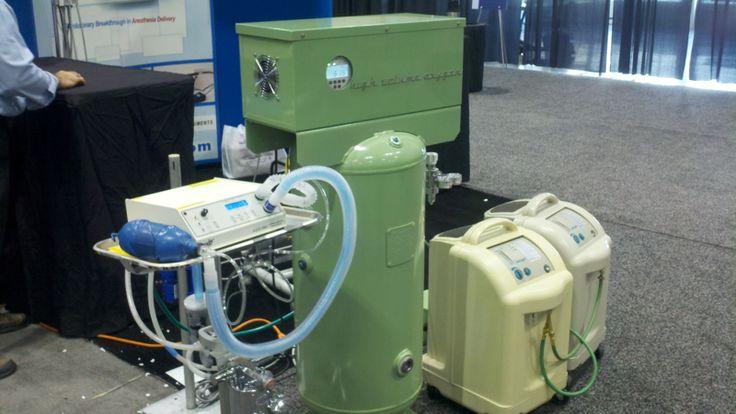High volume oxygen concentrator