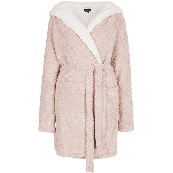 Topshop Teddy Robe 30 Liked On Polyvore Featuring Intimates Robes Pajamas