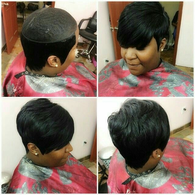 Best short hairstyle weave