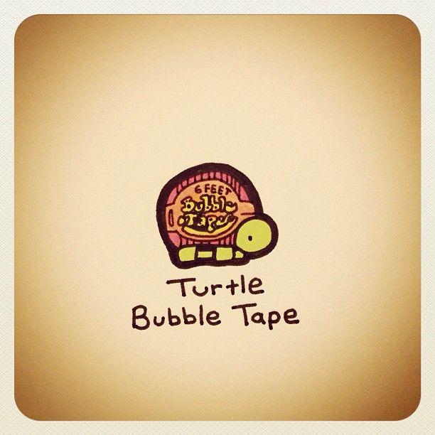 Turtle Bubble Tape - @turtlewayne- #webstagram