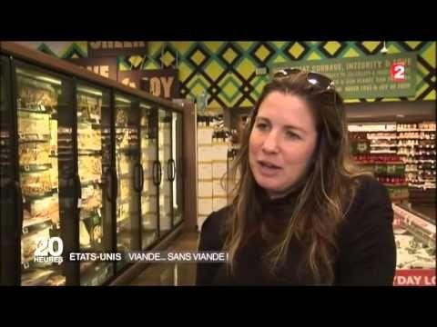 La viande sans viande, JT France 2 - YouTube