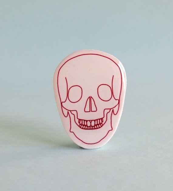 Skull Brooch by Your Organ Grinder
