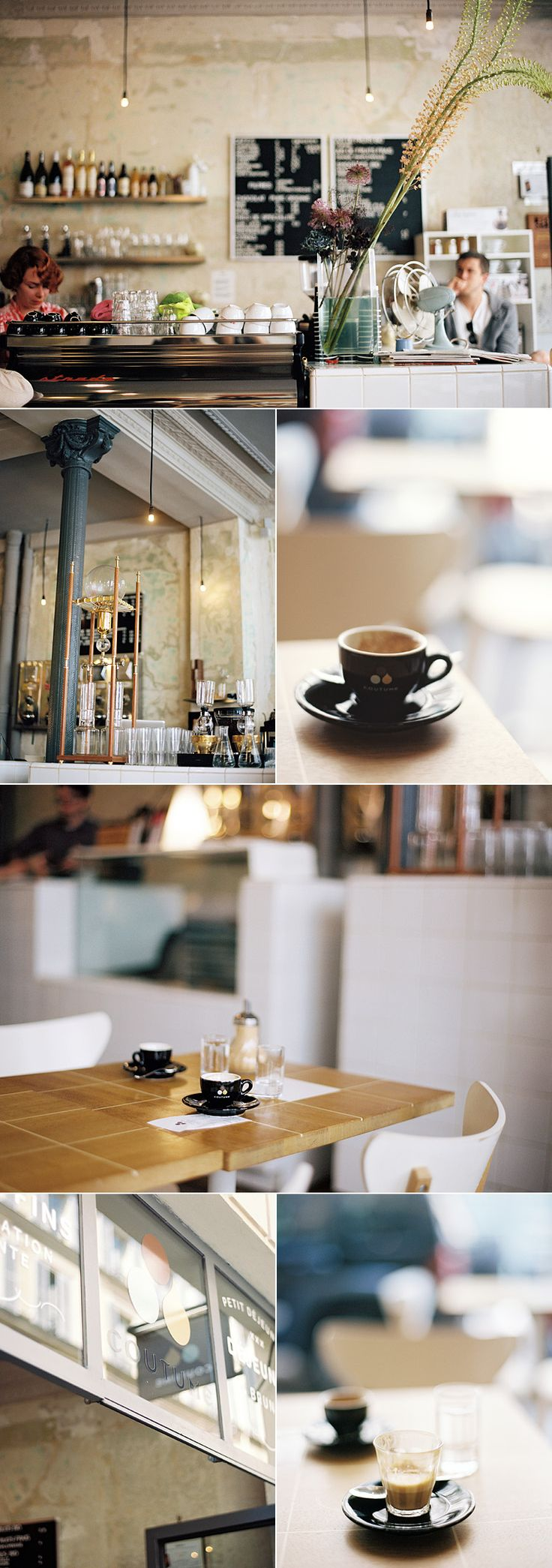 lingered upon: Where we had coffee in Paris. Télescope, Le Bal, Kooka Bourra, Coutume Café.