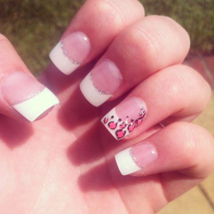 Gel Cheetah Print Nails Pinterest Makeup Fingernail Designs And Nail Stuff