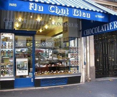 Au chat bleu, Paris / Deauville / Le Touquet