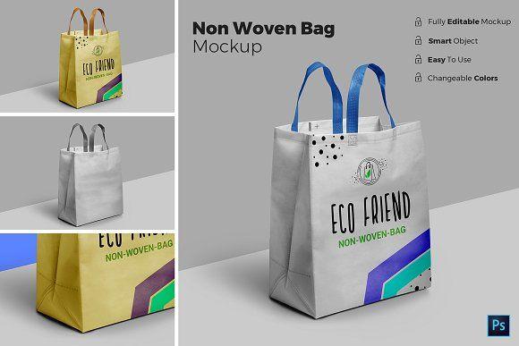 Download Non Woven Bag Mockup Bag Mockup Non Woven Bags Woven Bag