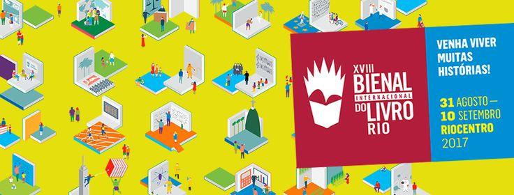 18ª Bienal Internacional do Livro Rio: Maior evento literário começa hoje!
