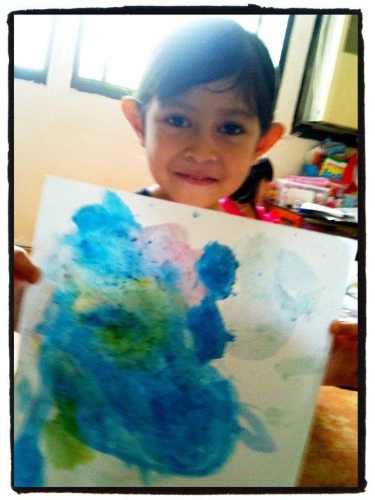 MiaPetra Paints (Age 4)