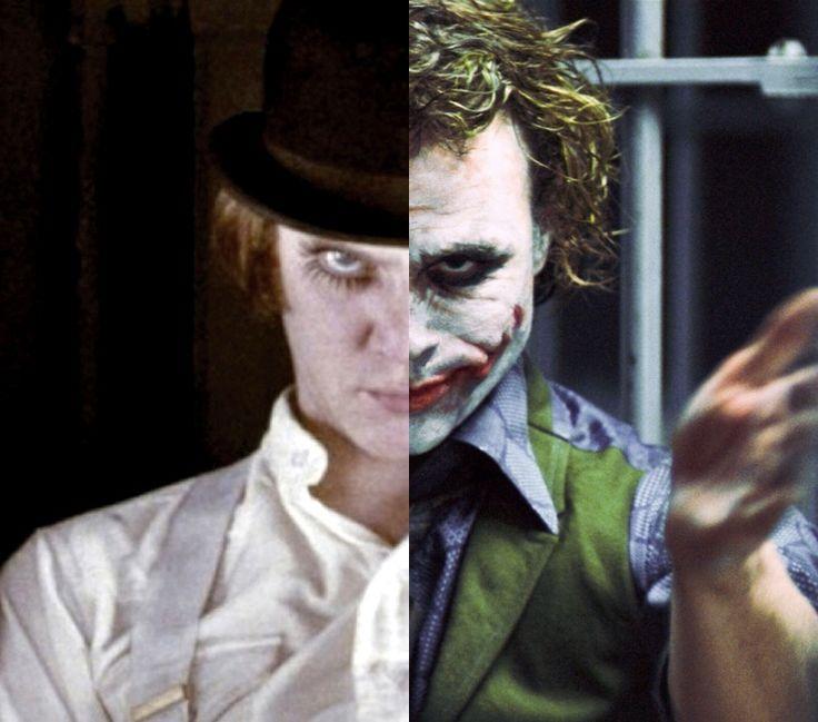 Alex Delarge and The Joker | The Joker | Pinterest