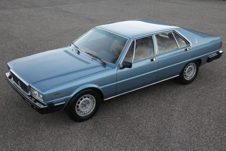 ≥ Maserati Quattroporte III '80 80900km 'concoursconditie ...