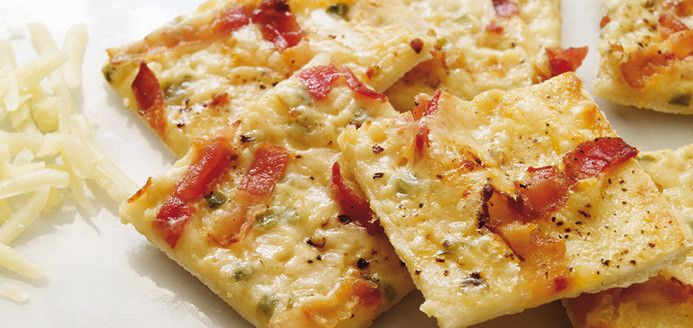 Pizza alsacienne Recettes | Ricardo