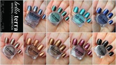 Make your own polish with Bella Terra Cosmetics Eyeshadows! @Bella Terra Cosmetics #BellaTerraCosmetics #NailPolish #DIYNailPolish