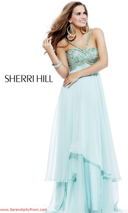 The 233 best Sherri Hill Prom images on Pinterest | Formal dress ...