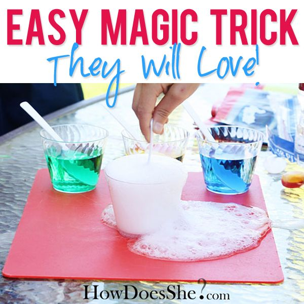 easy magic trick!