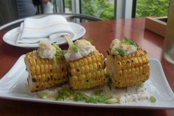 Corn at gigi restaurant