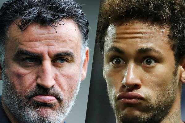 """Avant le match Lille-PSG, Christophe Galtier invite Neymar à """"analyser son attitude et se ressaisir""""."""
