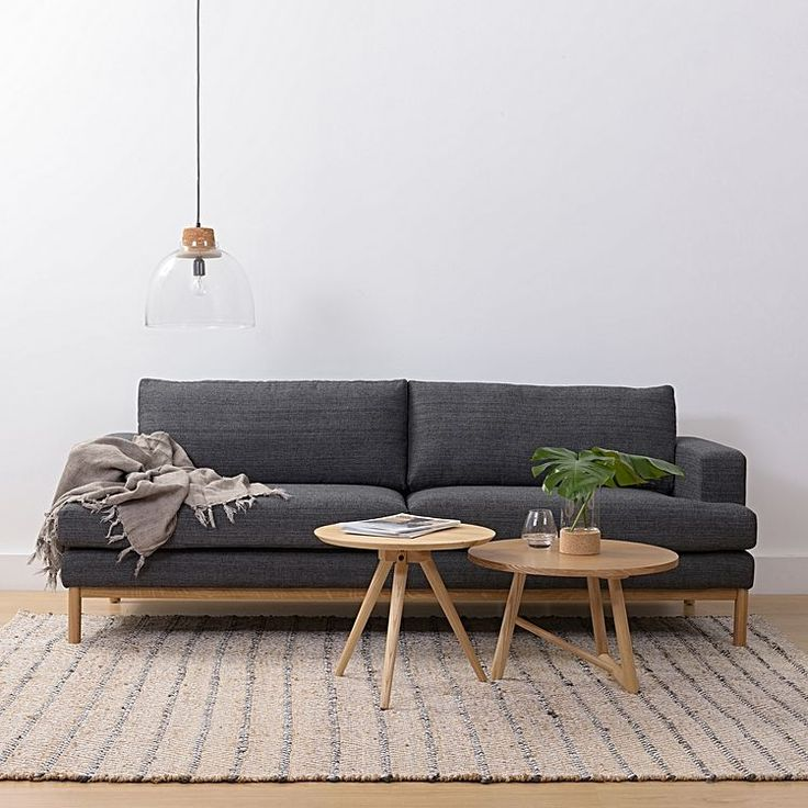 Venga 3 Seater Sofa, Anthracite $1,499