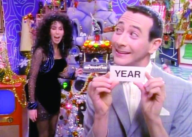 "Cher on ""Pee Wee's Playhouse."""