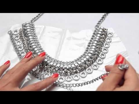DIY maxi collar inspirado en Dylanlex - YouTube