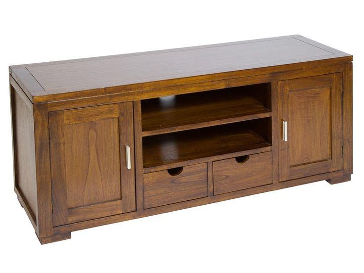 Mueble+TV+de+madera+de+acacia+Forest.+La+mesa+ideal+para+prestar+un+toque+acogedor+a+tu+salón