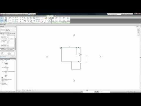 Revit Architecture 2011 Beginners Tutorial - 2 (Architectural Elements)