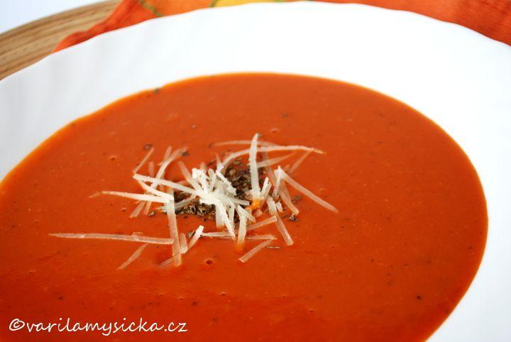 Zdravá rajčatová polévka