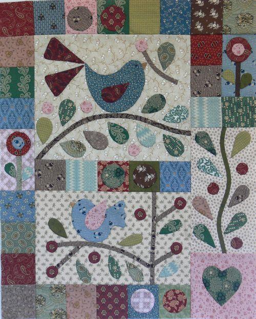 Berries and Bluebirds BOM: BerriesBOM2