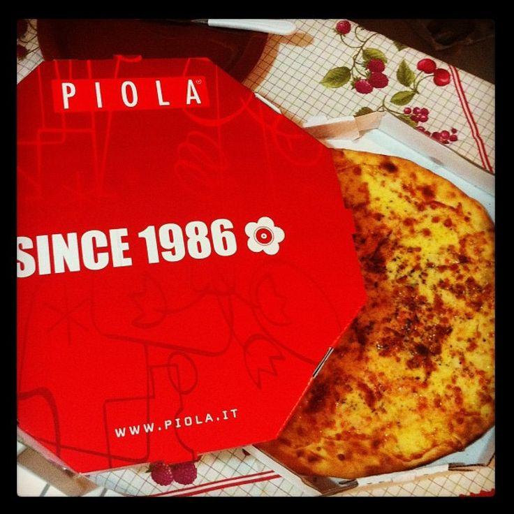 Piola's pizza